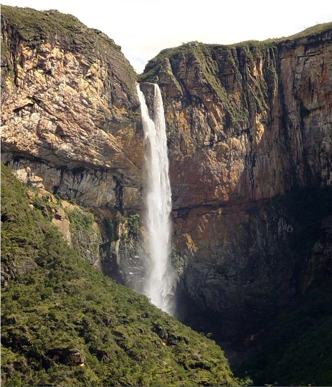 Cachoeira do Tabuleiro. Foto: Prefeitura municipal de Conceição do Mato